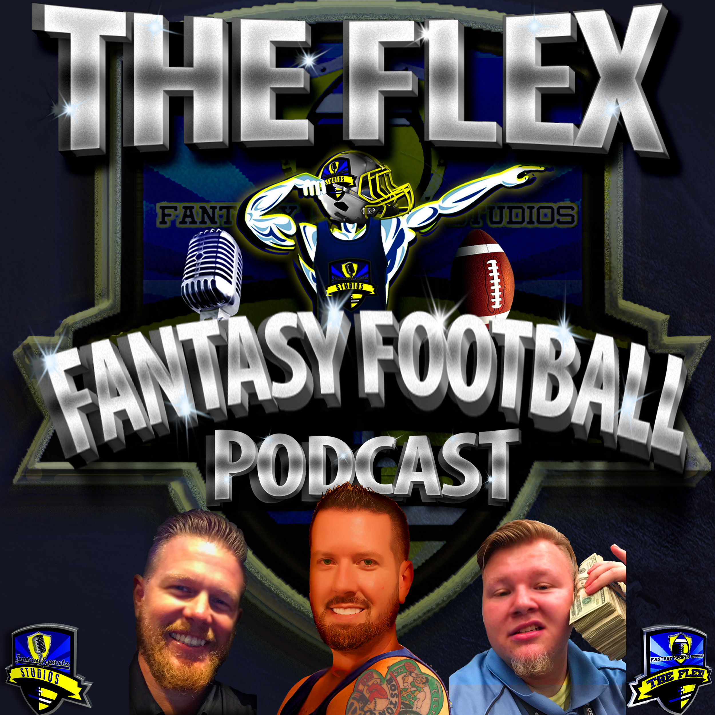 The Flex! Fantasy Football Podcast - Presented by Fantasy Sports Studios